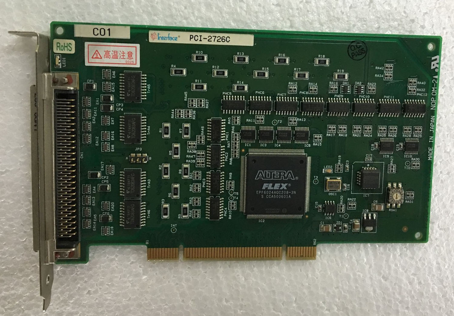 interface PCI-2726CM