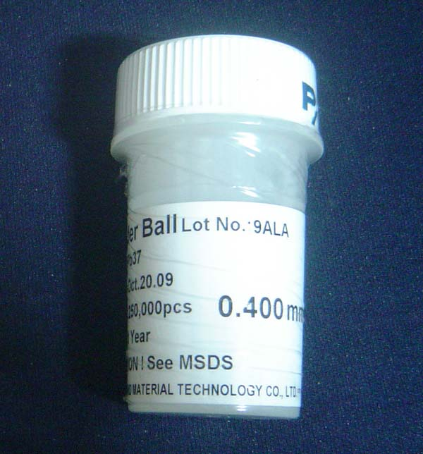 250k 0.40mm BGA Solder Balls Lead